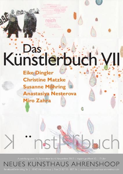 Plakat_Künstlerbuch VII